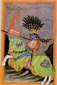 Jezdecký portrét Václava I., Gelhausenův kodex