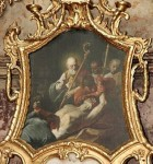 Obraz sv. Valentina v brněnském kostele sv. Michala.